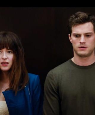 Watch the New Fifty Shades of Grey Super Bowl Trailer, Plus a Never-Before-Seen Clip from the Movie