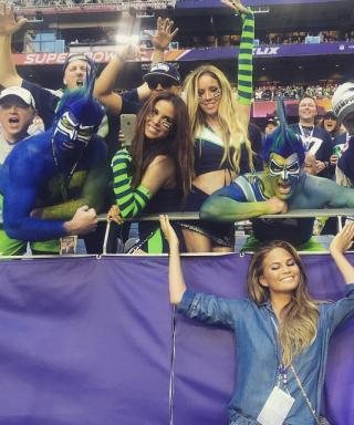 The Best Celebrity Instagrams from the 2015 Super Bowl