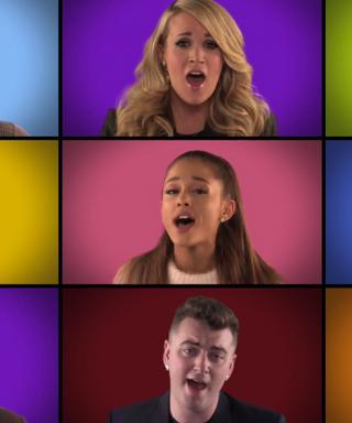 "Carrie Underwood, Ariana Grande, One Direction Sing A Capella ""We Are the Champions"" on Fallon"