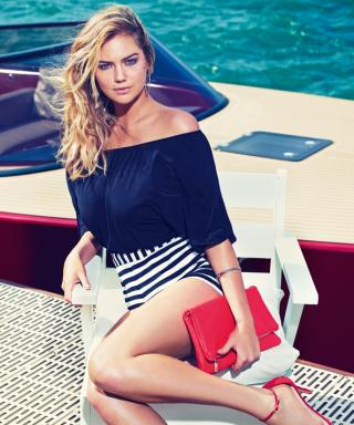 See Kate Upton's Beyond-Gorgeous Campaign for Express