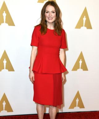 """The Story Behind Julianne Moore Weaning Herself from """"Intellectual Fashion"""""""