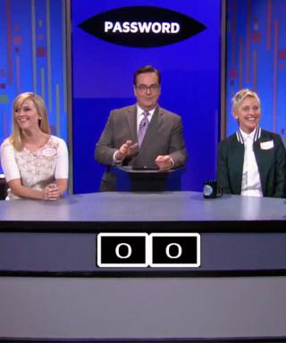 Reese Witherspoon Tries to Take Down Ellen DeGeneres in a Game of Password