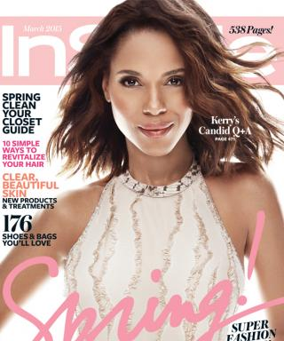 First Look! Kerry Washington Is InStyle's Gorgeous March Cover Star