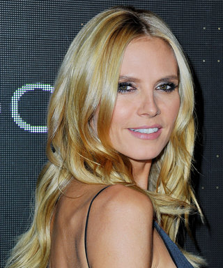 "See Heidi Klum's Cute ""Home Sweet Home"" Photo of Her Kids' Feet"