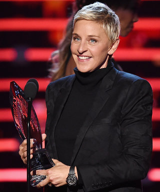 Ellen DeGeneres Likens Herself to Mother Theresa, Dalai Lama in Hilarious Acceptance Speech
