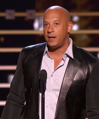 Watch Vin Diesel's Tear-Jerking Musical Tribute to Paul Walker from the People's Choice Awards