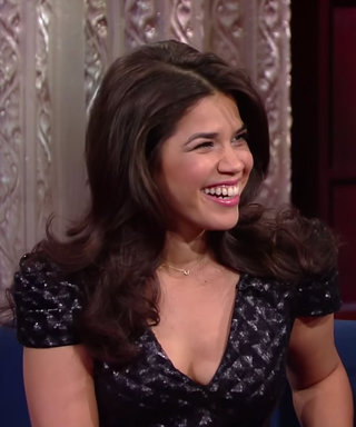 Watch America Ferrera Share Her Sugar-Filled Latchkey Kid Recipes with Stephen Colbert