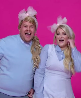 "Watch Meghan Trainor and James Corden Sing About Breaking Resolutions in ""All About That Change"""