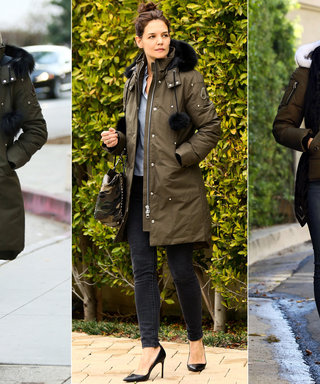These Stars Show How to Make a Parka Look Chic