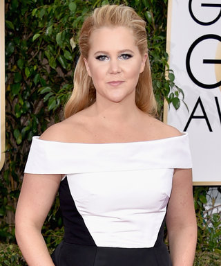 Amy Schumer Snuggles with Her Boyfriend Ben Hanisch Post-Golden Globes After-Parties