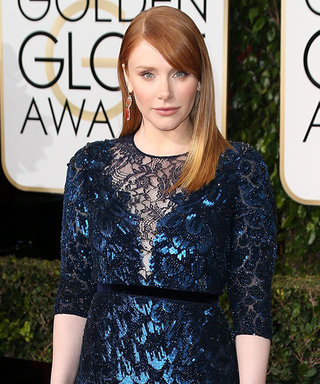 Golden Globes Presenter Bryce Dallas Howard Picked Up Her Off-the-Rack Gown from Neiman Marcus
