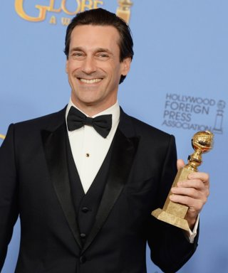 "Jon Hamm on His Final Mad Men Golden Globe Win: ""I'm Incredibly Pleased"""