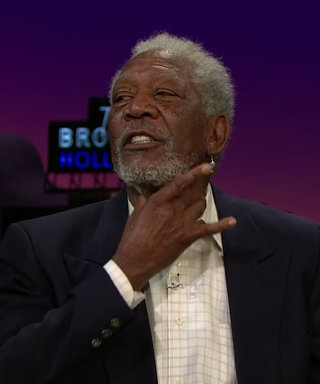 Watch Morgan Freeman Reveal the Secret of His Sexy Voice to Zooey Deschanel