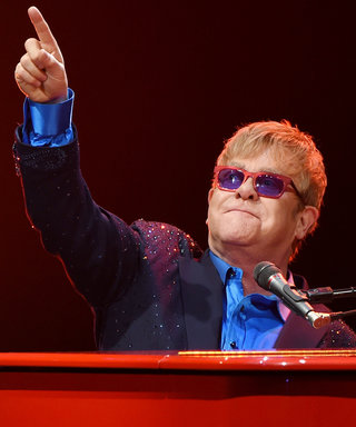 "Elton John Honors the Late David Bowie, Plays Cover of ""Space Oddity"""