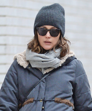 Rose Byrne Keeps Her Baby Bump Warm in a Cozy Puffer Coat