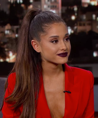 """Ariana Grande Teaches Jimmy Kimmel About Makeup, Talks About Her """"Arianator"""" Fans"""