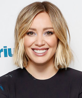 Hilary Duff's New 'Do Is Literally Pretty in Pink