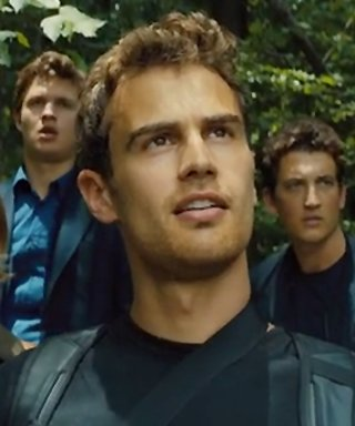 Get a Glimpse of Theo James in the Shower in the Latest Allegiant Trailer