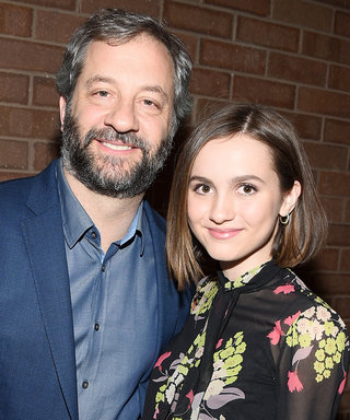 Judd Apatow and Leslie Mann's Daughter Maude Looks Utterly Chic in a Robe-Style LBD