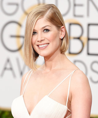Happy 37th Birthday to Queen of the Blunt Bob, Rosamund Pike! See Her Best-Ever Hair Moments