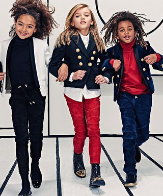 Balmain's Olivier Rousteing to Launch a Children's Line