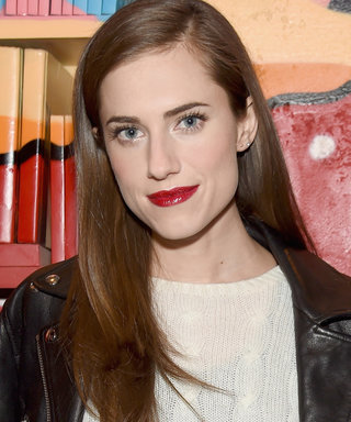 Allison Williams Woke Up with New Layered Bangs this Morning