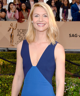 Aw, Claire Danes Took Her Son to See His First Movie