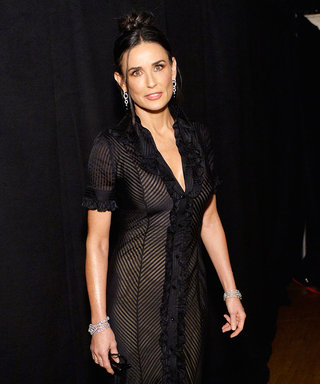 Demi Moore Surprises at the 2016 SAG Awards (and Wears a Dress From Her Own Closet)!