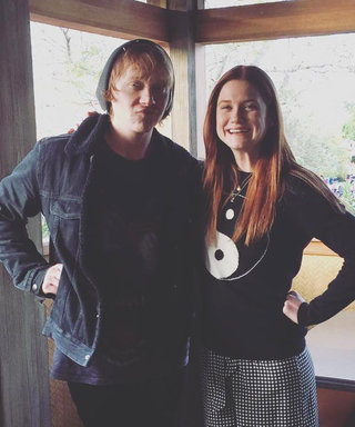 Ron and Ginny Weasley Just Had the Most Epic Harry Potter Reunion