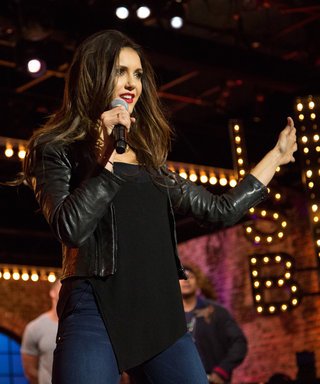 """Watch Nina Dobrev """"Get It On"""" with Tim Tebow on Lip Sync Battle"""