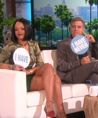 Rihanna and George Clooney Play a Revealing Game of Never Have I Ever on Ellen