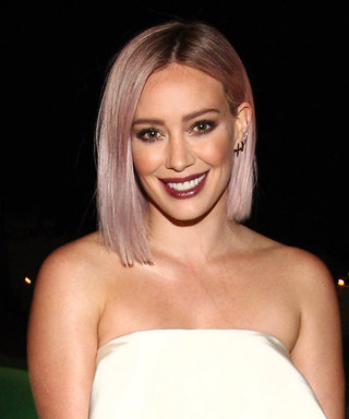 "Hilary Duff on Her Pink Hair: ""I Was Inspired by Instagram"""