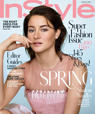 How to Get Shailene Woodley's Soft-Focus Makeup Look from Our March Cover Shoot