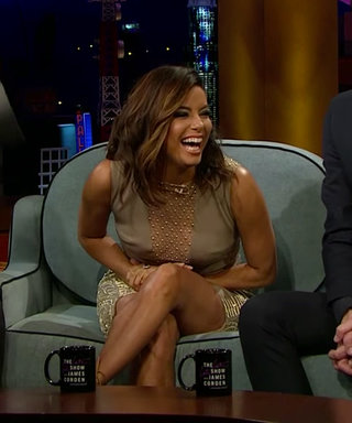Watch & Learn: Eva Longoria Proves She's a Master of Dodging Questions