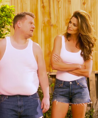 Watch Cindy Crawford's Iconic 1992 Pepsi Super Bowl Ad Parody with James Corden