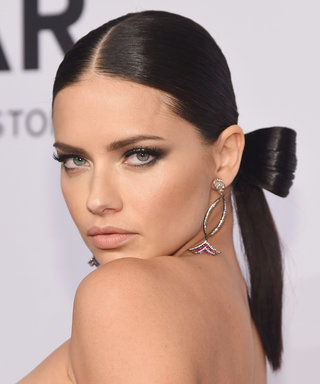 Get Adriana Lima's Romantic Hair and Makeup Just in Time for Valentine's Day