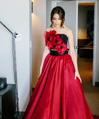 Go Behind the Scenes at Olivia Culpo's Runway Gown Fitting for NYFW