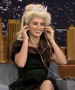 Watch Penélope Cruz Perfectly Dubsmash to Frozen in a Blonde Wig