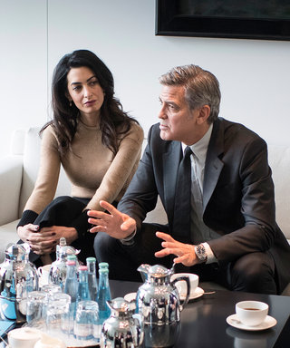George and Amal Clooney Release Video with Syrian Refugees
