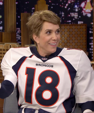 Watch Kristen Wiig Pretend to Be Super Bowl Champion Peyton Manning on The Tonight Show