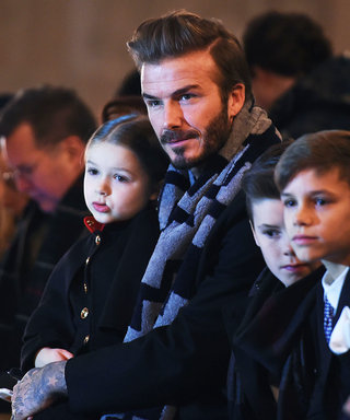 David Beckham and the EntireFamily Sit Front Row at Victoria Beckham's #NYFW Show