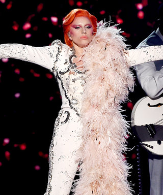 Lady Gaga Pays Tribute to David Bowie in a Thrilling Grammys Performance