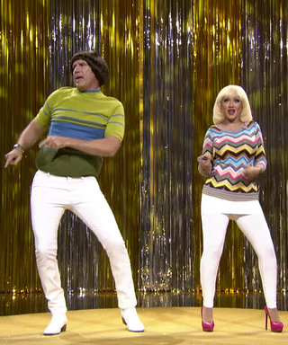 Watch Christina Aguilera and Will Ferrell Sing and Dance in Tight White Pants