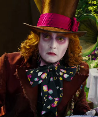 "New Alice Through the Looking Glass Trailer Features Pink Covering ""White Rabbit"""