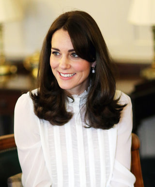 Kate Middleton Wears a Sheer Top and Tweed Skirt to Take On Her Role as Guest Editor