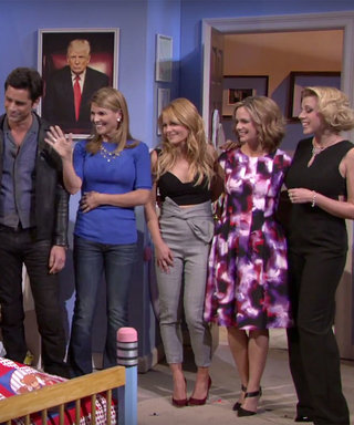 """Watch the Fuller House Cast Reunite to Give """"Donald Trump"""" the Best Pep Talk Ever"""