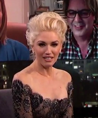 Watch Gwen Stefani Get Giddy About Remembering Her Camp Crush on Kimmel