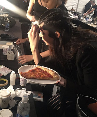 Kendall Jenner Ate Pizza Right Before Walking in Marc Jacobs