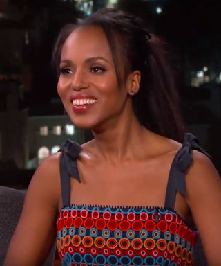 You'll Never Believe Where Kerry Washington Spent Her Birthday