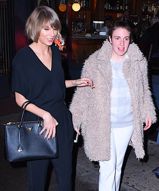 Taylor Swift Wears a Chic Black Jumpsuit for Dinner with Lena Dunham